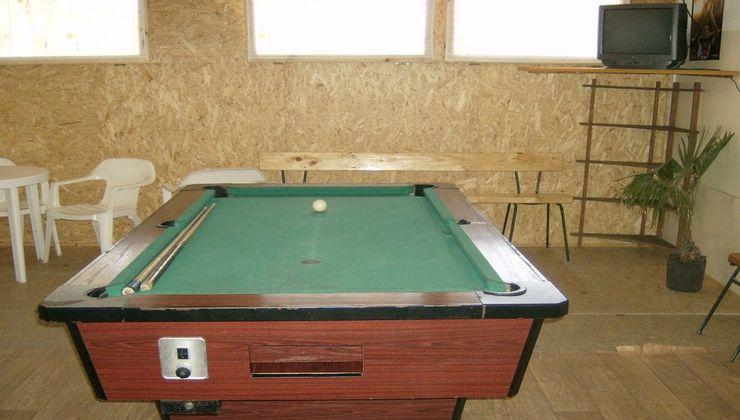 Edzőtábor - Balatonakali Ifjúsági Tábor - biliárd