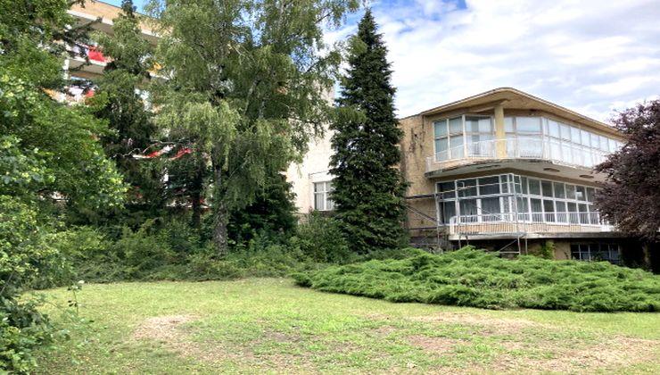 Edzőtábor - Balatonfüred Ifjúsági Hotel, kert