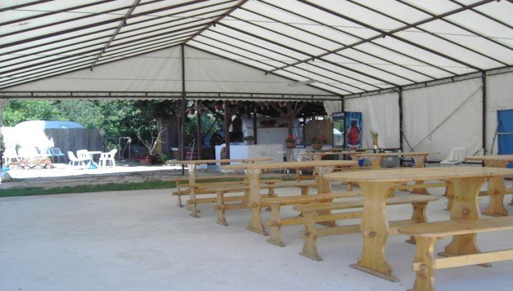Edzőtábor - Révfülöp Panzió és Tábor - Rendezvénysátor