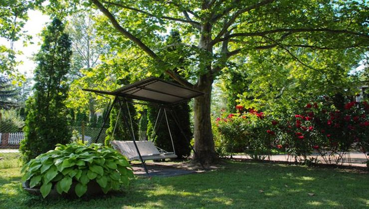Edzőtábor - Balatonföldvár Panzió és Tábor - kert 2