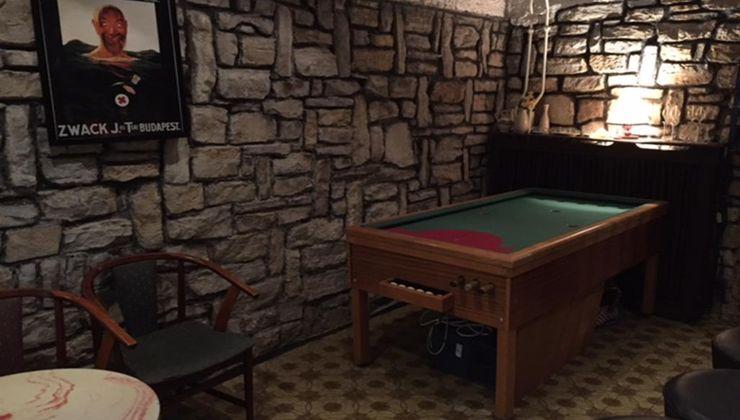 Edzőtábor - Balatonföldvár Panzió és Tábor - rex asztal