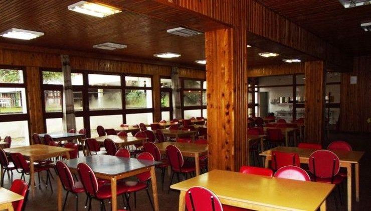 Edzőtábor - Balatonszemes Üdülő Tábor - étterem