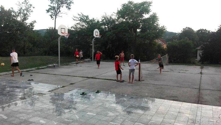 Edzőtábor - Kőröshegy-A Tábor - sportpálya