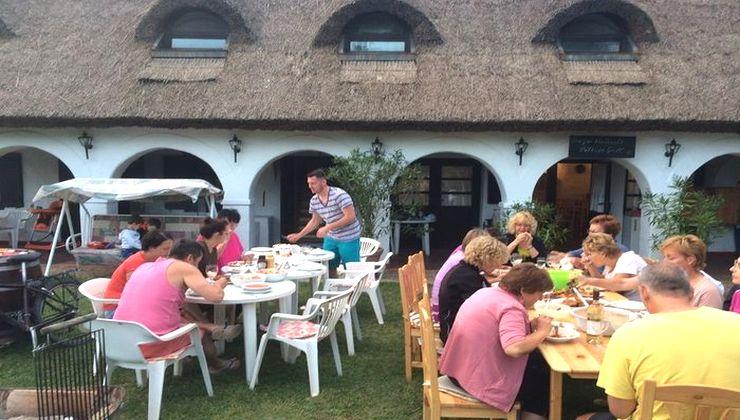 Edzőtábor, Pálköve Fogadó - étkezés