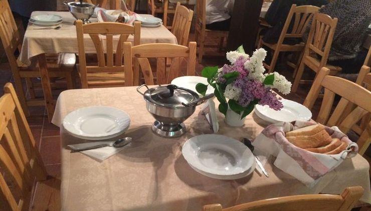 Edzőtábor, Pálköve Fogadó - étterem