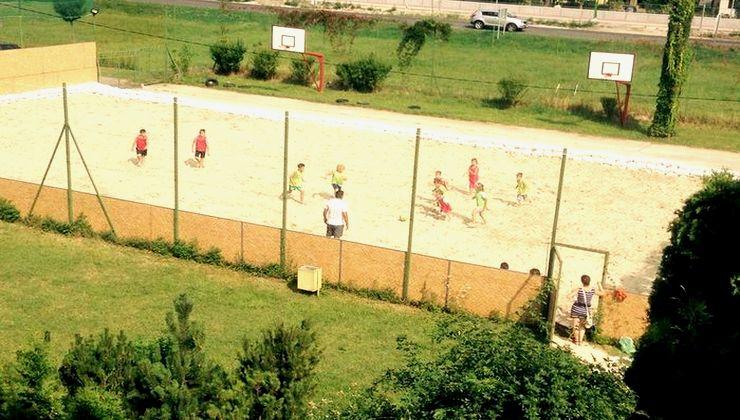 Edzőtábor - Siófok Ifjúsági Hotel - Tábor - sportpálya