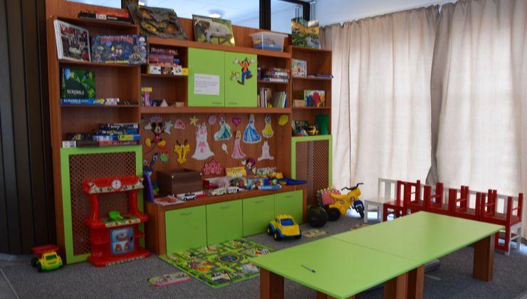 Edzőtábor helyszín - Zamárdi Üdülő és Hotel - játékszoba