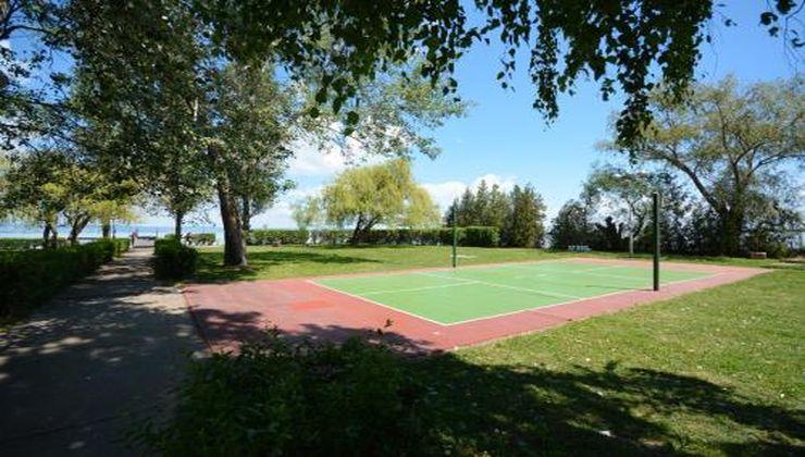 Edzőtábor helyszín - Zamárdi Üdülő és Hotel - sportpálya