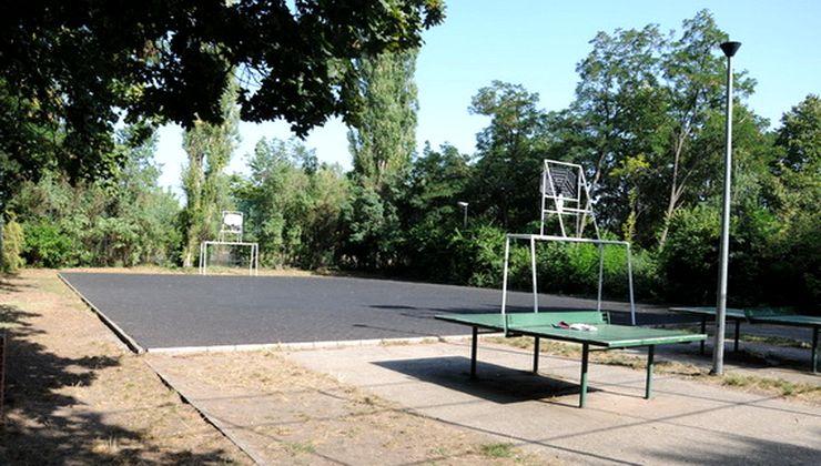 Edzőtábor, tábor - Velence Ifjúsági Tábor - Sportpálya