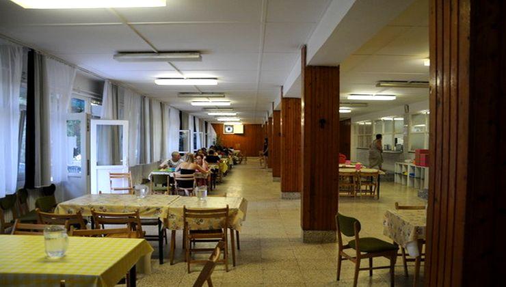 Edzőtábor, tábor - Velence Ifjúsági Tábor - étterem