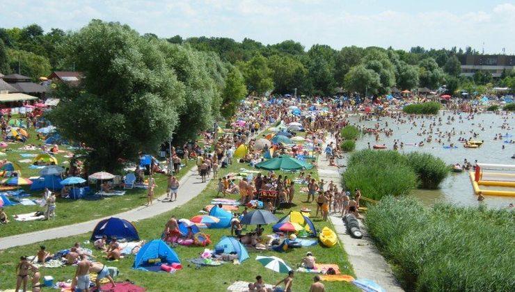 Edzőtábor, táborhely - Velence Ifjúsági Tábor - szabadstrand