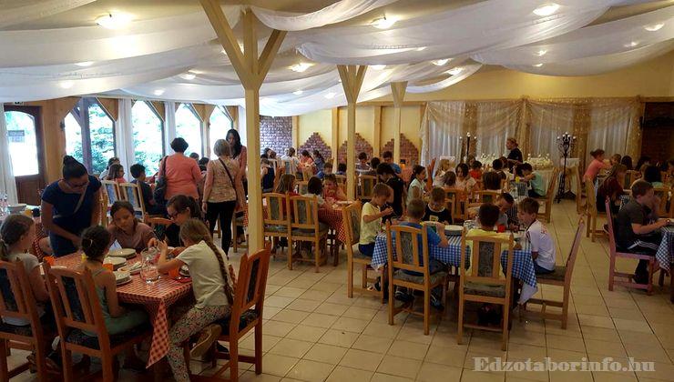 Edzőtábor - Csemő Ifjúsági Tábor - Étterem