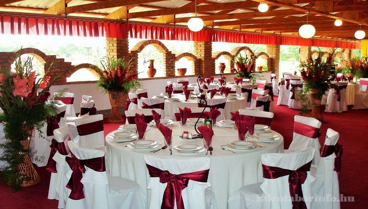 Edzőtábor - Csemő Ifjúsági Tábor - Grill étterem