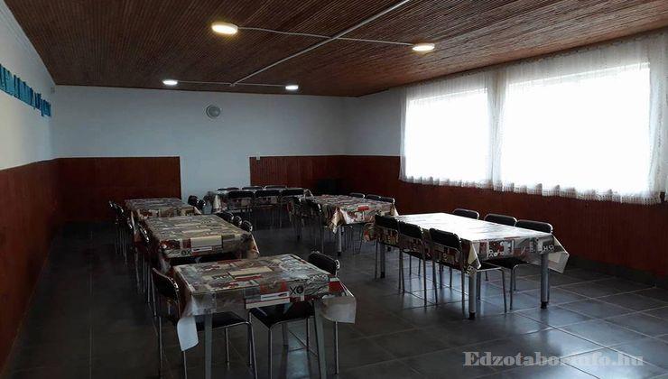 Edzőtábor - Dömsöd Ifjúsági Tábor - Étkező