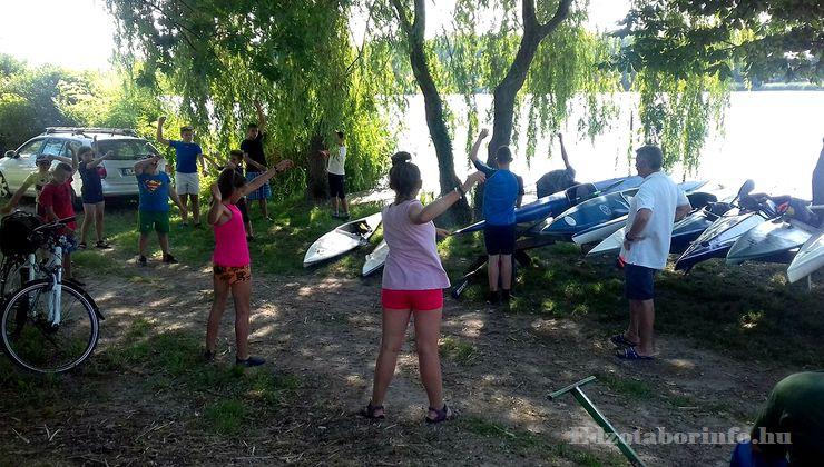 Edzőtábor - Dömsöd Ifjúsági Tábor - Stég 2
