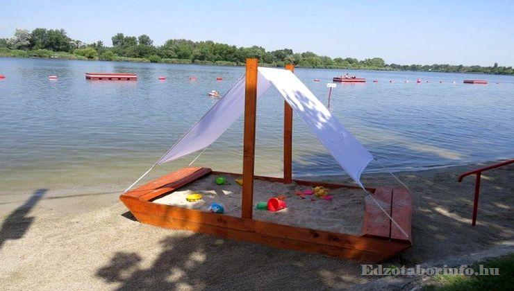 Edzőtábor - Dömsöd Ifjúsági Tábor - Strand