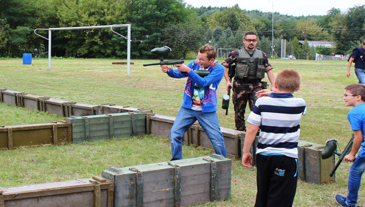 Edzőtábor - Pusztavacs Tábor - Lézerharc