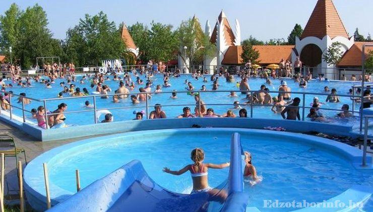 Edzőtábor - Sárospata Ifjúsági Tábor - Strand