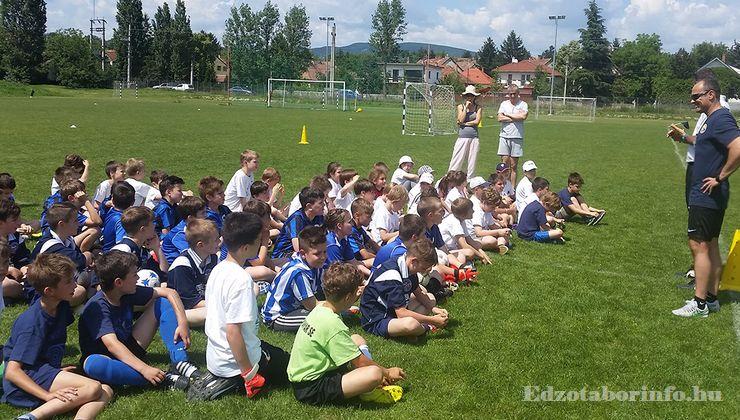 Edzőtábor, Szetendre Ifjúsági Tábor - Futballpálya
