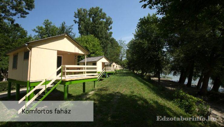 Edzőtábor, Szetendre Ifjúsági Tábor - Komfortos faházak