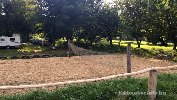 Edzőtábor, Szetendre Ifjúsági Tábor - Strandröplabda