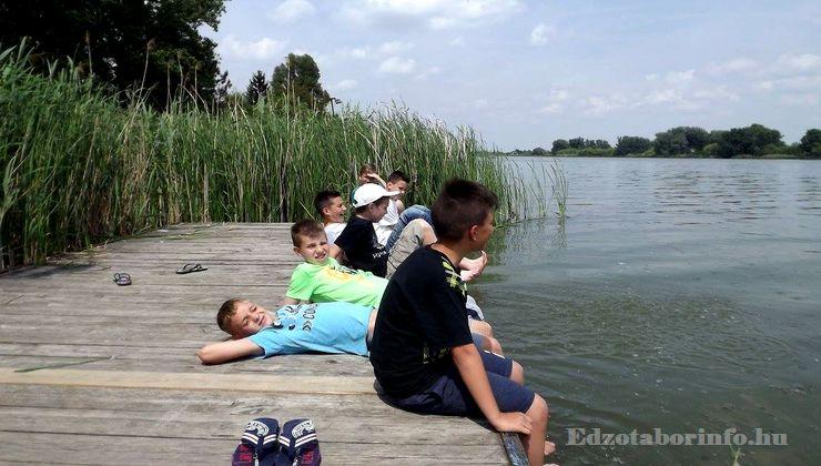 Edzőtábor - Szigetszentmárton Ifjúsági Tábor - stég