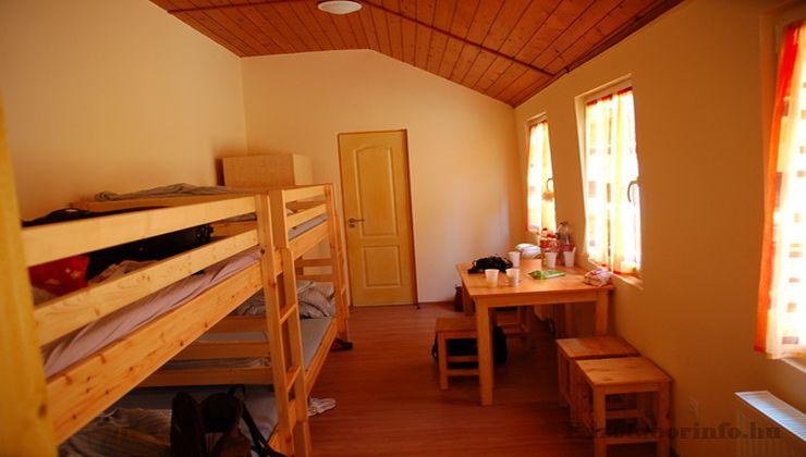 Edzőtábor - Szilvásvárad Ifjúsági Tábor - Szállás