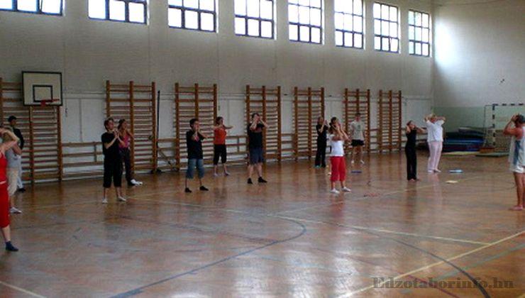 Edzőtábor - Szilvásvárad Ifjúsági Tábor - Tornacsarnok