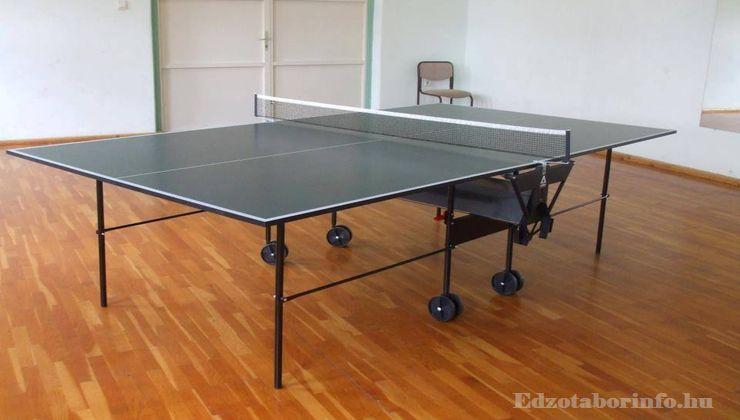 Edzőtábor - Tápiószentmárton IfjúságiTábor - Sportcsarnok - Pingpongterem