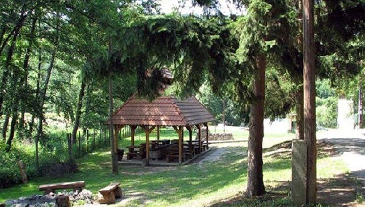 Edzőtábor, táborhely - Bánvölgye Ifjúsági Tábor - udvar