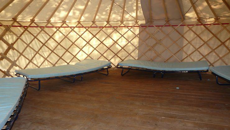 Edzőtábor, táborhely - Békés-Dánfok Üdülő és Tábor - Jurta szállás