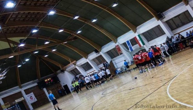 Edzőtábor, táborhely - Békés-Dánfok Üdülő és Tábor - Sportcsarnok