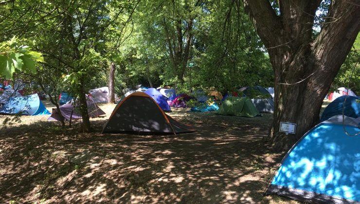 Edzőtábor, táborhely - Bodajk Ifjúsági Tábor - Sátrazás