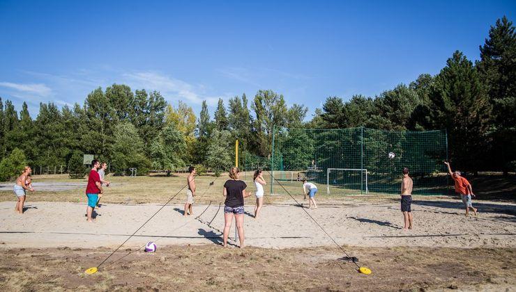 Edzőtábor, táborhely - Bodajk Ifjúsági Tábor - Sportpályák