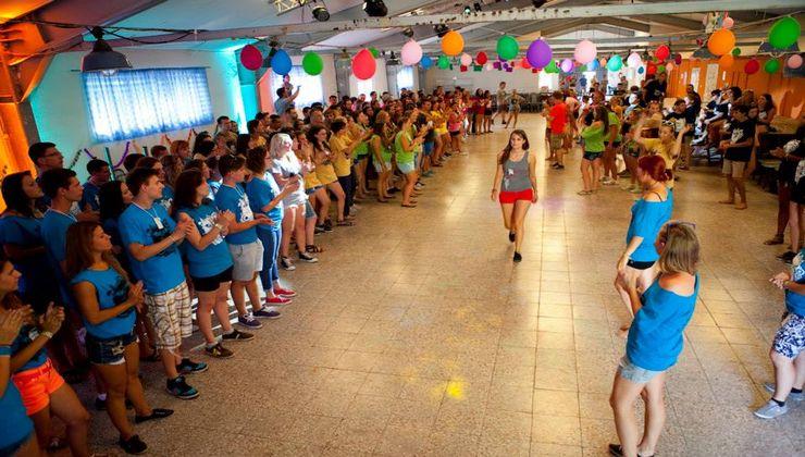 Edzőtábor, táborhely - Bodajk Ifjúsági Tábor - buli