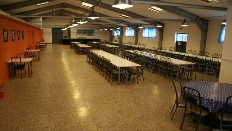 Edzőtábor, táborhely - Bodajk Ifjúsági Tábor - ebédlő