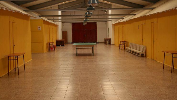 Edzőtábor, táborhely - Bodajk Ifjúsági Tábor - szállás folyosó