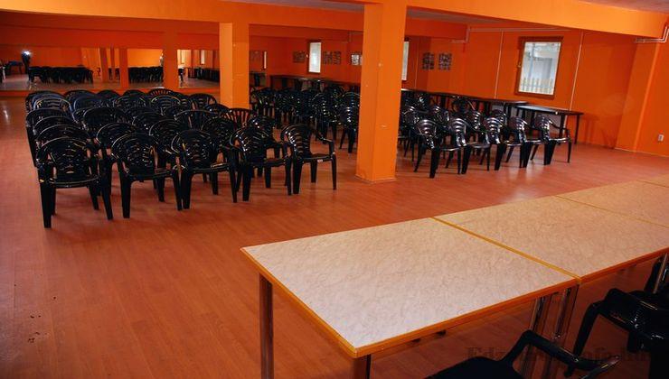Edzőtábor, táborhely - Mezőkövesd Ifjúsági Tábor - Tükrös terem 2