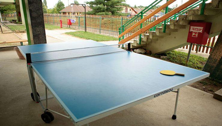 Edzőtábor, táborhely - Mezőkövesd Ifjúsági Tábor - pingpong