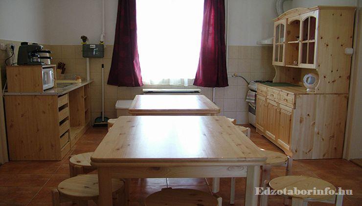 Edzőtábor - Hajdúszoboszló Táborhelyszín - konyha 3