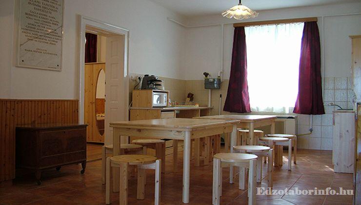 Edzőtábor - Hajdúszoboszló Táborhelyszín - konyha
