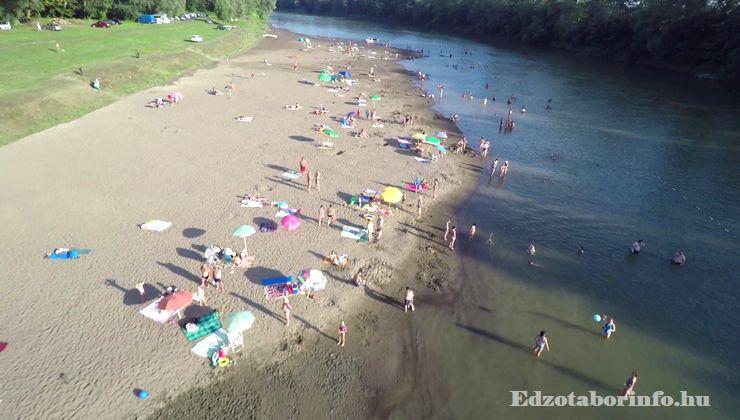 Edzőtábor - Jánd Tábor és Üdülő - strand beach