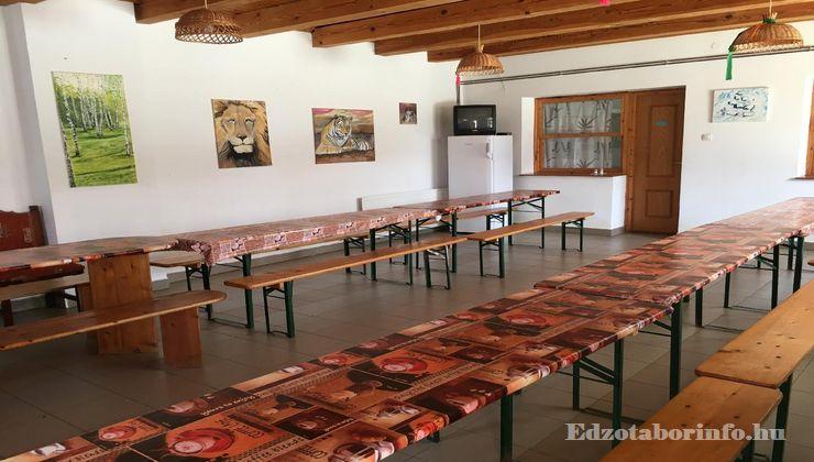 Edzőtábor, Őrimagyarósd Ifjúsági Tábor - Étkező