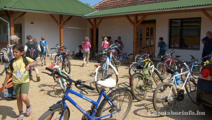 Edzőtábor, Őrimagyarósd Ifjúsági Tábor - kerékpáros túra