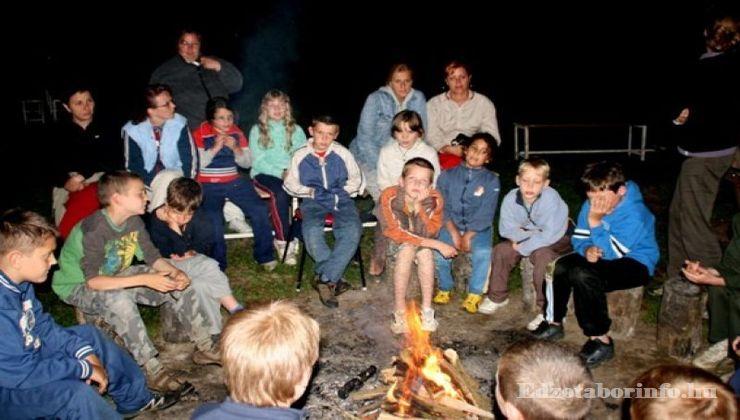 Edzőtábor, Őrimagyarósd Ifjúsági Tábor - tábortűz