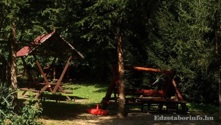 Edzőtábor - Parádfürdő Gyerektábor - Udvar