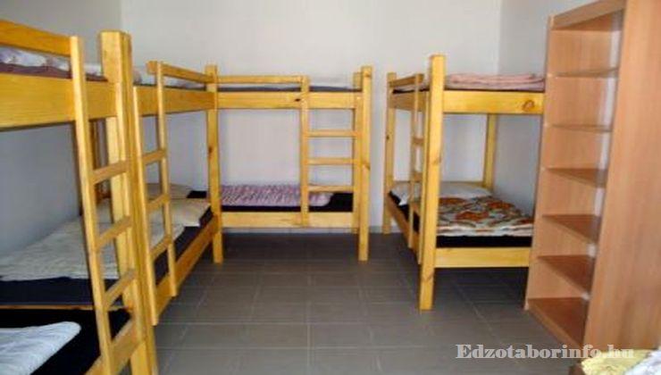 Edzőtábor - Szaknyér Ifjúsági Tábor - Szállás