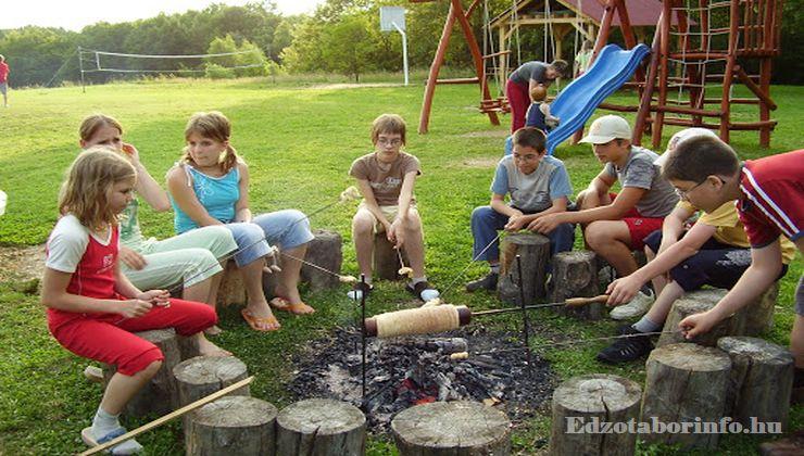 Edzőtábor - Szaknyér Ifjúsági Tábor - tűzrakóhely